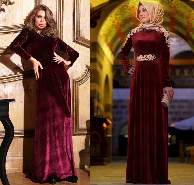 Все оттенки красного: бархатные платья