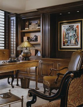 Home Office - traditional - home office - los angeles - by Donna Livingston Design