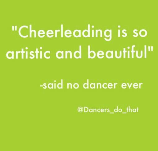 Dance problems ~ ugh cheerleaders in my opinion dancers >>>>>> cheerleaders<<cheerleaders are overrated.