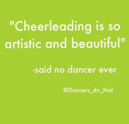 Dance problems ~ ugh cheerleaders