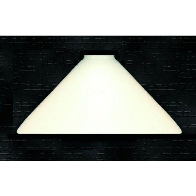 10 White Desk Lamp Cone Gl Shade Lcg3168