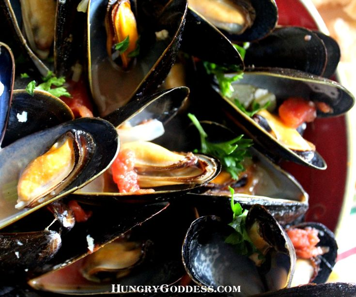 Mussels Marinara ~ great for Feast of the Seven Fishes