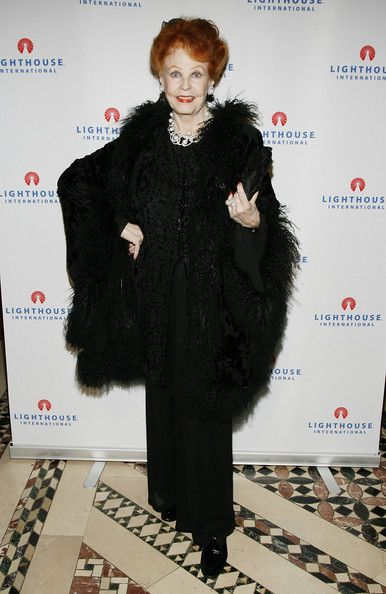 Actress Arlene Dahl in 2008 at the Lighthouse International Light Years Gala