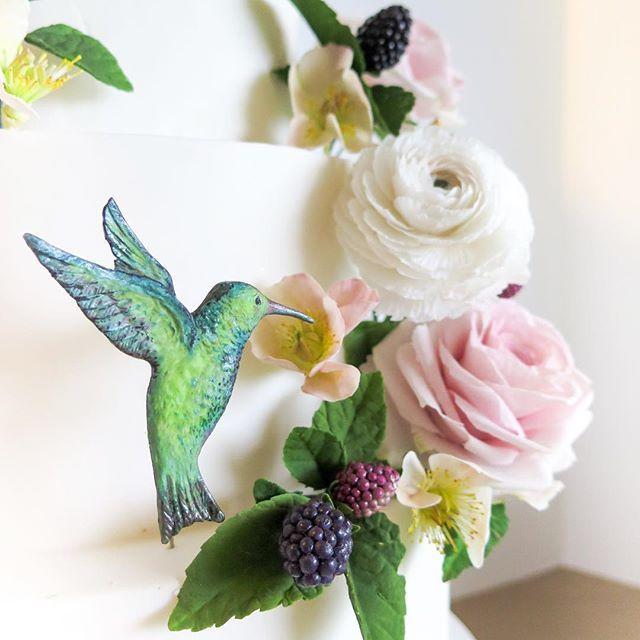 Sugar gardens in the studio this week - By edible artist and educator Emmy Roberts of Cake Bijou in Byron Bay Australia Gumpaste sugar flowers