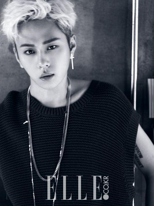 Jun Hyung - Elle Magazine August Issue '14