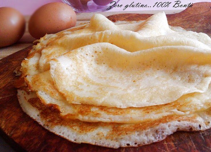 Ricetta crepes dolci con 2 uova