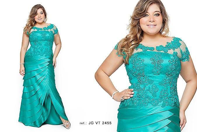 modelo de vestido plus size - Pesquisa Google
