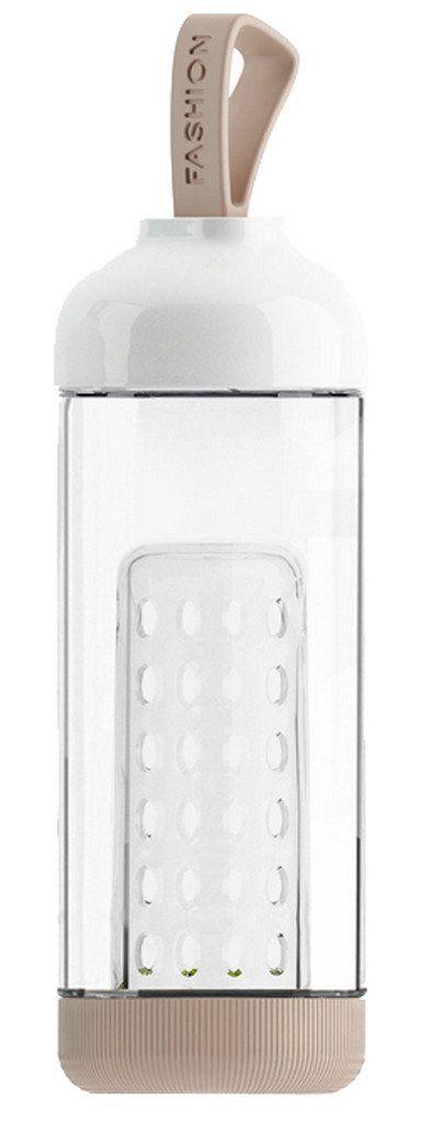 La Vogue Bouteille Portable De Sport À Infusion De Fruit Gourde En Verre Borosilicate BPA Free (noisette): Amazon.fr: Sports et Loisirs