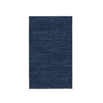 SPO Watercolor Solid Rug, Expedited Shipping, Midnight, 3'x5'