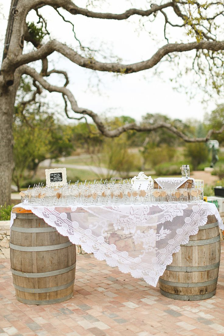 Signature Drink Station | Apryl Ann Photography | On SMP: http://www.stylemepretty.com/2013/12/03/texas-hill-country-wedding-from-apryl-ann-photography