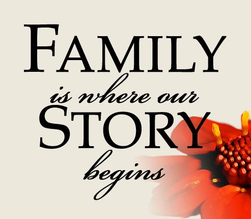 "Tattoo Ideas & Inspiration Quotes & Sayings ""Family is"