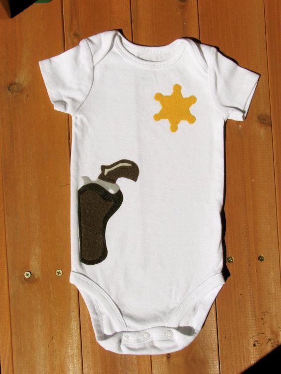 Body bebé sheriff / traje de vaquero Halloween