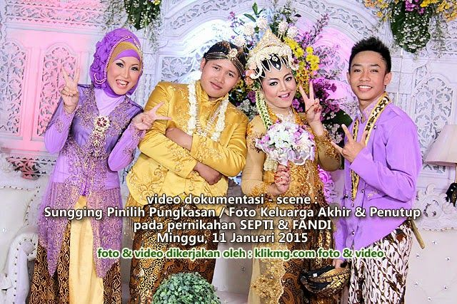 blog.klikmg.com - Rias Pengantin - Fotografi & Promosi Online : Video Dokumentasi Wedding Septi & Fandi : Sesi Fot...
