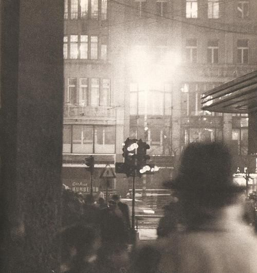 Night Prague by J.Kuna, mid 60's