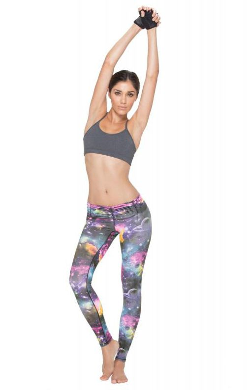 Would you rock these galaxy leggings ($78) to class?