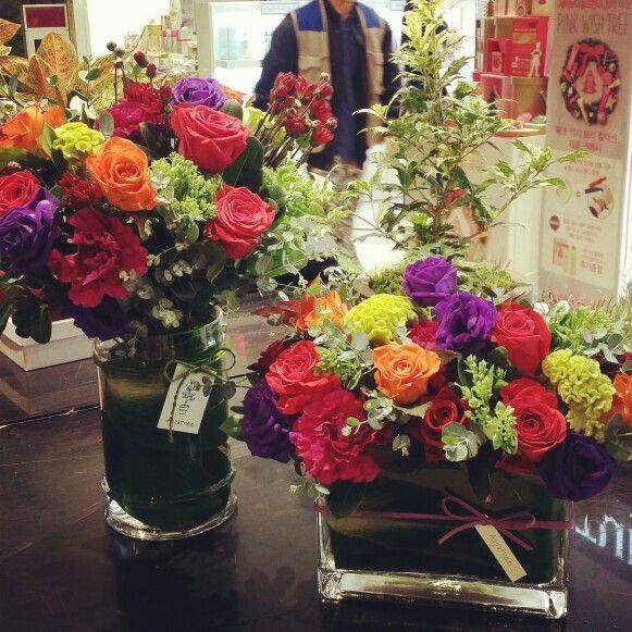 www.aquatree.co.kr  현대백화점 미아 착한쇼핑  행사꽃  By marolles(florist juhee)