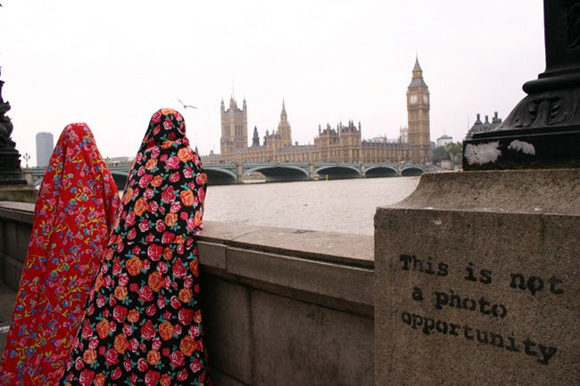 This is not a photo opportunity. Chador - dadar. Photographer artist: Hale Hanvari. #Iran #artists #art #photography