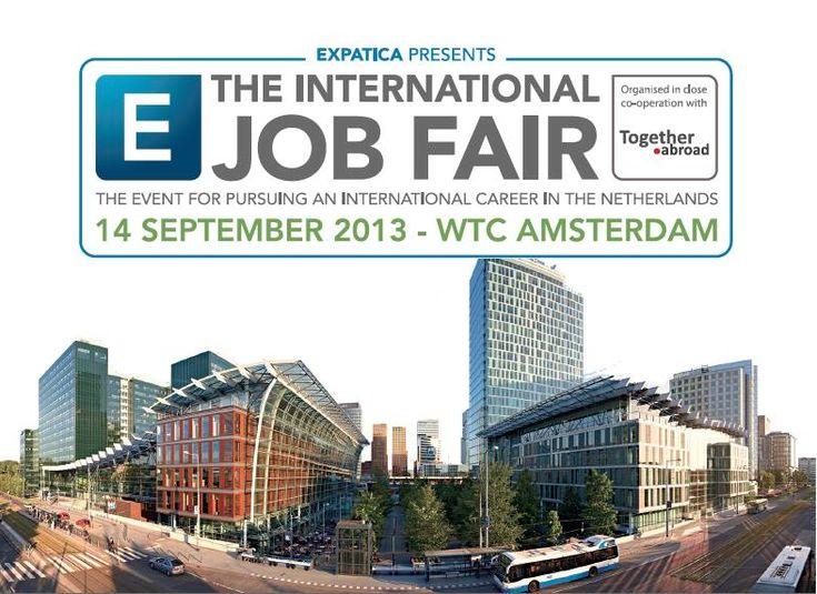 Expatica International Job Fair this weekend
