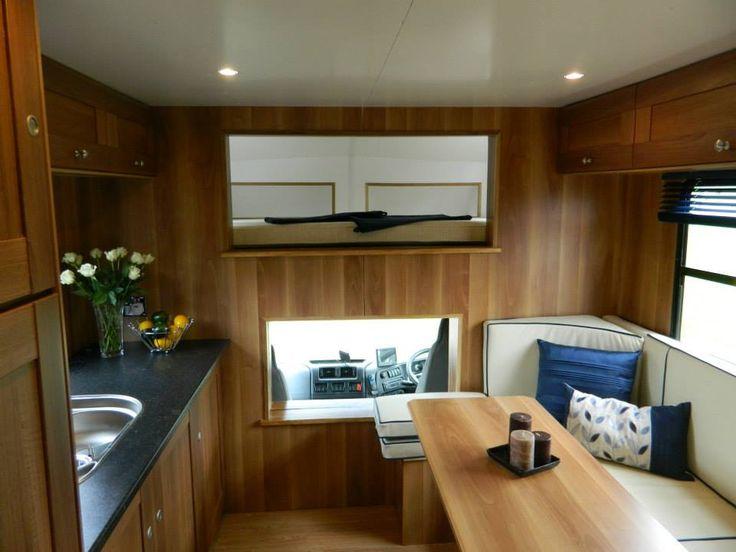Horsebox luxury living