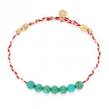 Alex and Ani Turquoise Precious Threads Bracelet