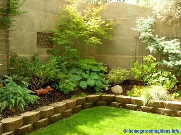 Backyard is a special place, where we could relax calm the mind with loved ones. So, we must make the rear garden design with beautiful and comfortable as possible so that we can enjoy any time. And if we do not have enough space to create a back garden, we could create a small flower