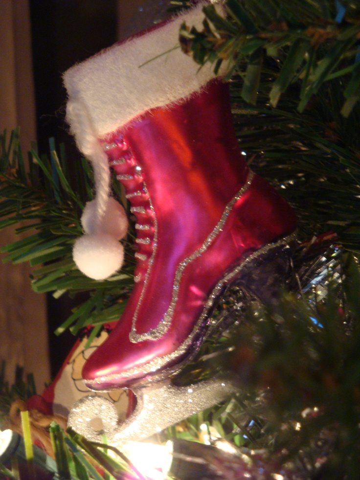 34 best Christmas ornaments images on Pinterest | Ice skating ...