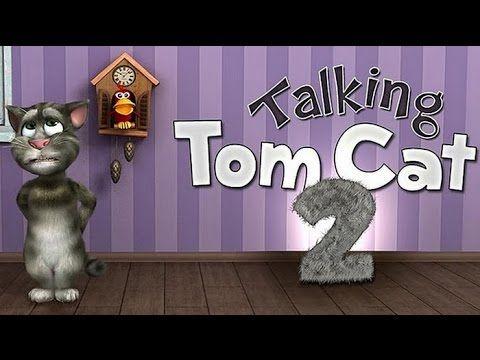 Talking Tom 2 gameplay - best mobile game apps for kids - Funny cat Tom