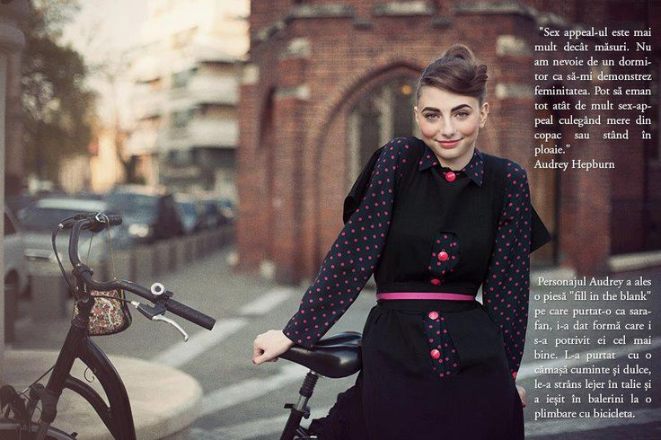 """Audrey Hepburn by Anca Miron """"Fill in the blank"""""""