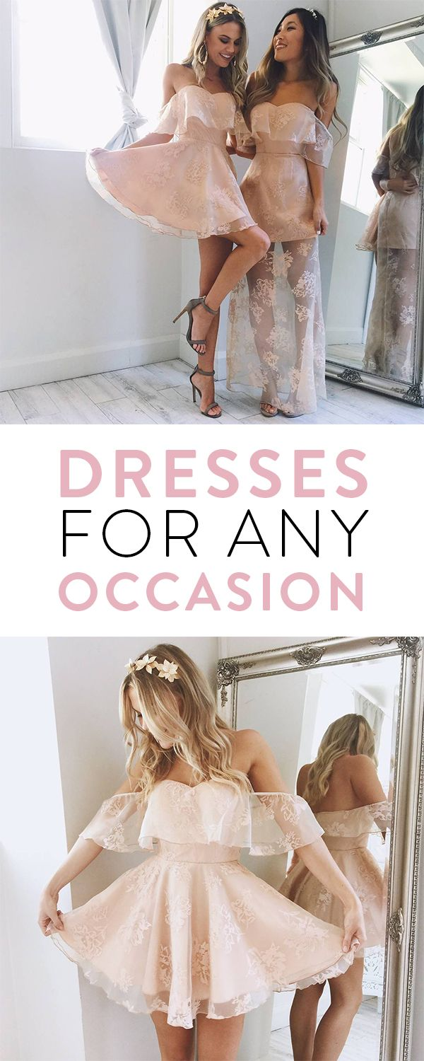 Looking for the perfect party dress for your next big event? Showpo has you sorted with hundreds of styles to suit all shapes and sizes! Click through to shop dress styles from A Line, strapless, bodycon, backless and so much more!#engagement #birthday #prom #homecoming