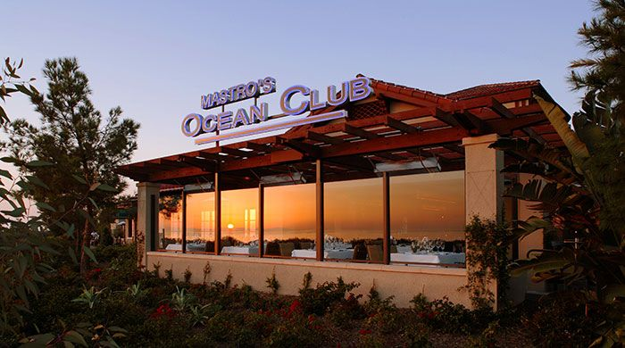 Mastros Ocean Club, Newport Beach, CA.  Home Of The Best Dessert Ever . . . Butter Cake!
