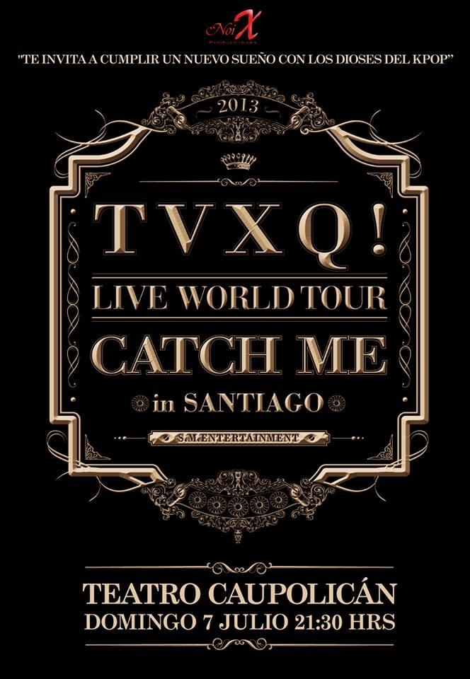 TVXQ Catch me Tour in Chile