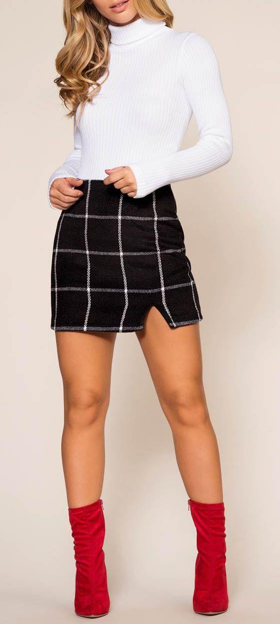 Get A Clue Skirt #lovepriceless