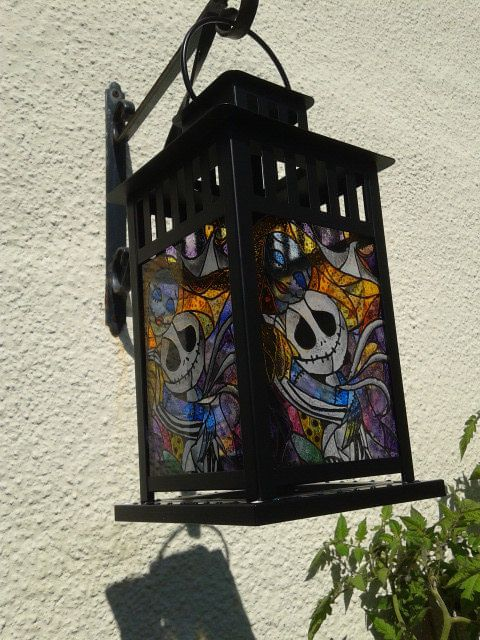 Nightmare Before Christmas Jack und Sally von SuziesGlassDesigns