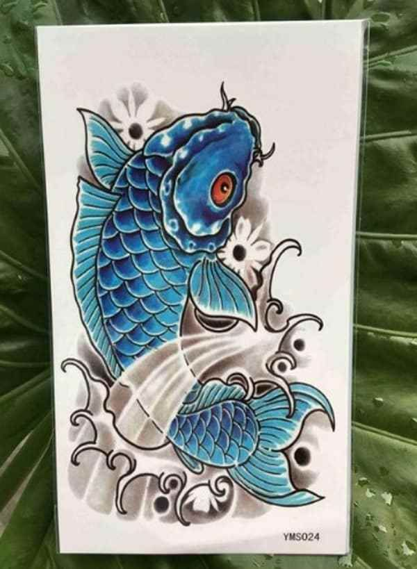 Awe Inspiring Koi Fish Tattoo Meaning Color Direction You Need To