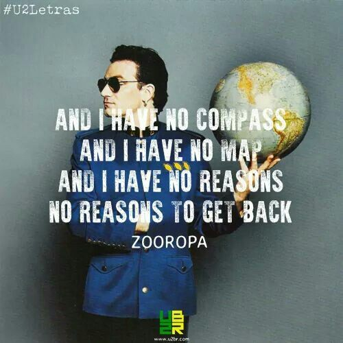 U2 Zooropa lyrics