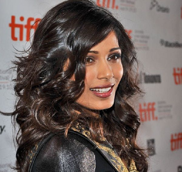 How to get Freida Pinto's softly deconstructed curls   Beauty Ramp - Beauty & Fashion Guide by Dr Prem   Skin, Body, Style Makeup and Hairstyles