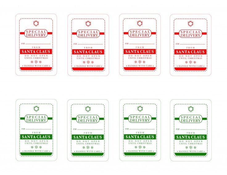 Tags {Christmas Printables} - Refunk My Junk