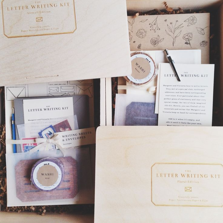 The Letter Writing Kit / Paper Pastries x Paper & Type