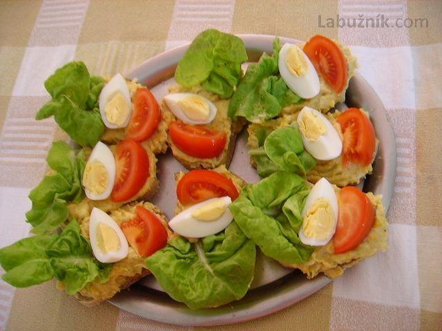 Bramborová pomazánka na chlebíčky