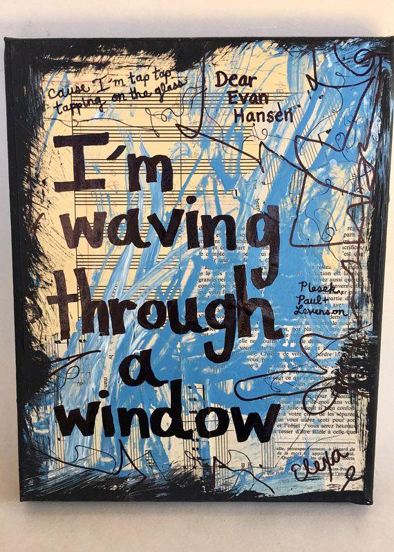 Broadway Fan Ben Platt Dear Evan Hansen Musicals Gift Musical Theatre Wall Art Music Gift Musician Play Painting Home Decor Art Print Dear Evan Hansen Musical Dear Evan Hansen Broadway Dear
