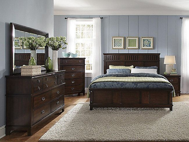 Panel bed Beds and Queen on Pinterest