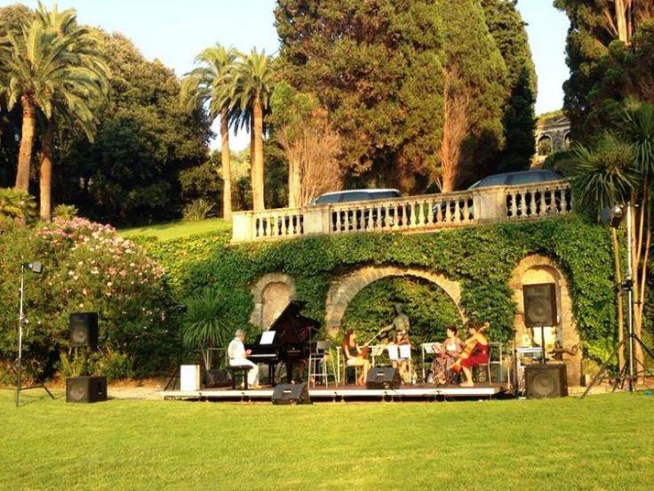 LEVANTO, TRA MARE E MUSICA Fino al 10 settembre gli appuntamenti del Festival Amfiteatrof, rassegna musicale internazionale. Cinque fantastiche location
