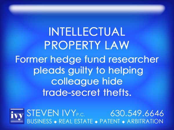 STEVEN IVY - A former researcher with Chicago-based Citadel LLC pleaded guilty today to helping a colleague try to hide personal computers that had been used to steal trade secrets from the giant hedge fund's high-speed automated trading system. Sahil Uppal, had been scheduled to go to trial next month in federal court in Chicago.... In July 2011, Uppal helped copy onto Pu's personal hard drives three files containing research he had used to develop the trading strategy…