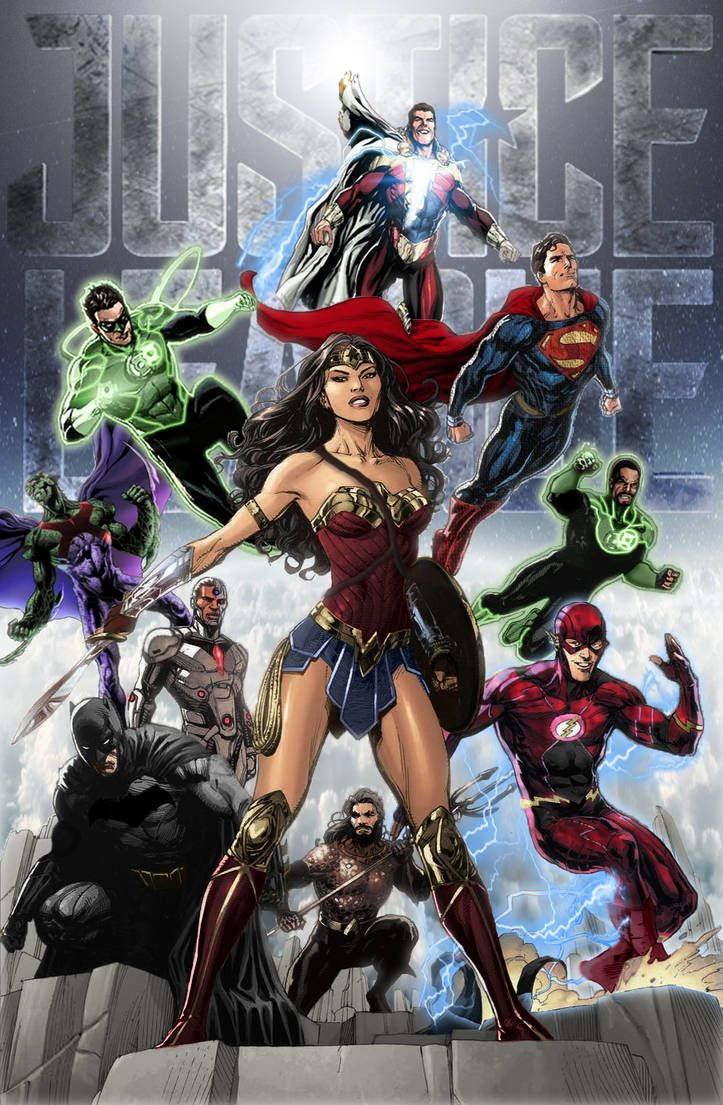 Justice League Dceu By Zg01man Dc Comics Characters Dc Comics Art Comics
