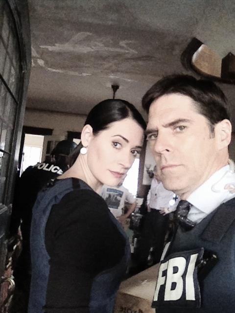 paget brewster and thomas! criminal minds