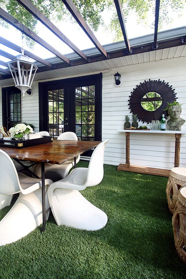 The Artificial Grass is Always Greener on a Deck  Patio