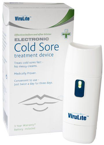 Original Virulite Cold Sore machine. Treat coldsores using an invisible light by Virulite. $99.00. An amazing innovation from Europe that provides reief from cold sores fast. Use when you first feel a cold sore attack coming on an the chances are the blister will not appear at all. Innovative invisible light stimulates your bodies natural defence an attacks the Herpes virus head on. Fast pain relief when used at blister stage. This device is now being prescrib…Home Remedies For Cold Sores