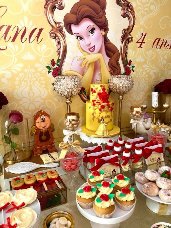 Miraculous Princess Belle Beauty The Beast Birthday Party Download Free Architecture Designs Scobabritishbridgeorg