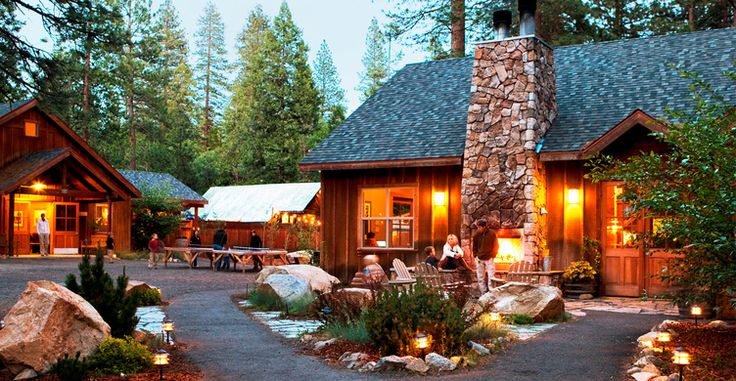 Evergreen Lodge, Yosemite, CA: classic lodge, which offers accommodations from deluxe cabins to vintage cabins to pre-arranged campsites