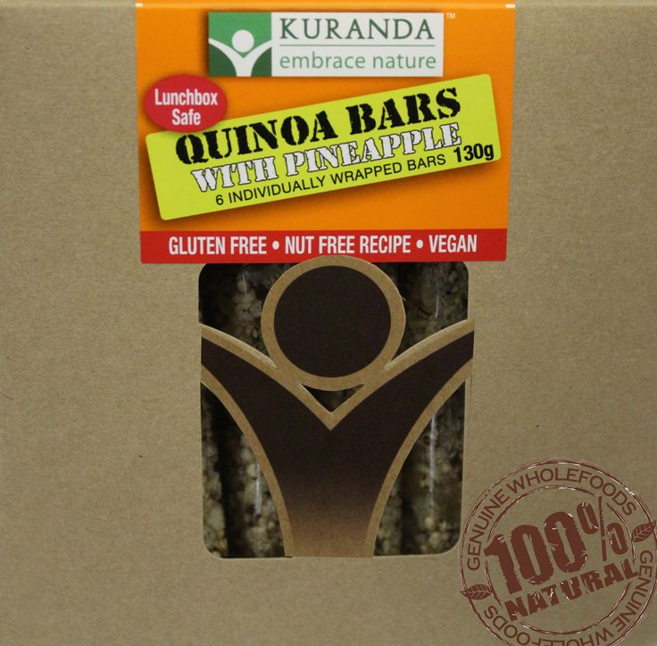 NEW Lunchbox Safe Quinoa & Pineapple Health Bars an absolute favourite with kids and a great treat for school lunchboxes too!  Nutritionally sound, absolutely wholesome, no refined sugars, Gluten Free, Wheat Free, Dairy Free, Egg Free and full of flavour!  Check them out at www.aussiehealthsnax.com.au #Glutenfree #Wheatfree #Dairyfree #Wholesome #Goodness #Vegan